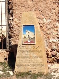Esta estación del Vía Crucis almeriense nos recuerda que el Cortijo del Fraile fue escenario de grandes películas.