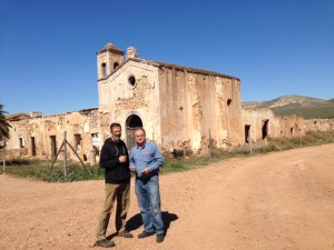 Con el profesor Abel Lacalle, miembro de la Junta Rectora del P.N. Cabo de Gata-Níjar