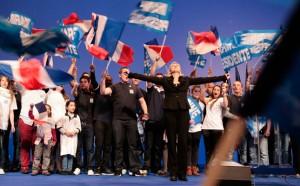 Frente Nacional celebra su victoria en Francia. Su líder, Marine Le Pen, me da miedo.