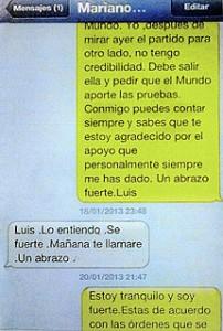 Pecaminosos mensajes de Rajoy a su querido Luis Bárcenas.