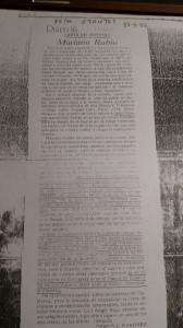 Artículo -laudatorio hasta el sonrojo- de Pedro J. Ramirez en Diario 16 (17-VII-1988)