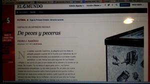 Artículo de Pedro J. Ramírez contra su sucesor en El Mundo