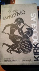 """Portafa de """"Yo soy Espartaco, de Kirk Douglas (Edi. Capitán Swing)"""