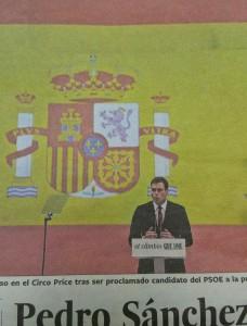 Pedro Sánchez, lider del PSOE. (22-VI-15)